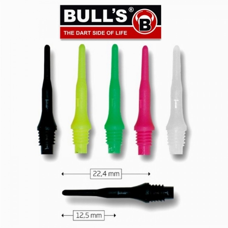 BULL'S Tefo-X Soft Tips (2BA) 100 Stk.